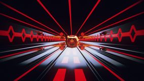 3D Orange Sci-Fi Tron Tunnel Loopable Motion Background3D Red Sci-Fi Tron Tunnel Loopable Motion BackgroundSpaceship Flight inside. Spaceship Flight inside a Sci stock video
