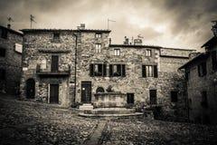 D'Orcia Castiglione стоковая фотография rf