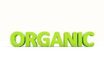 3d orgânico Imagem de Stock