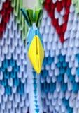 3d Origamipiek Royalty-vrije Stock Foto's
