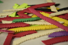3D origamivoorraad Stock Foto