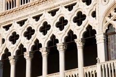 D'Oro de Ca del detalle, Venecia Fotografía de archivo