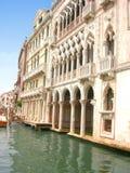d'Oro de Ca en Venecia Imagen de archivo
