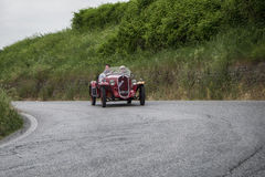 D'Oro FIATS 508 S Coppa Balilla-Sport 1934 Lizenzfreie Stockfotografie