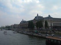 d'Orsay的Musee或奥赛博物馆,巴黎 图库摄影