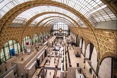 D'Orsay Musee Royaltyfri Bild
