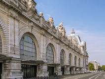 D`Orsay Museum from outside Royalty Free Stock Photo