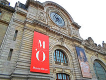 D-`-Orsay museum, Paris fotografering för bildbyråer