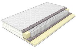 3d orthopedic mattress section Royalty Free Stock Image