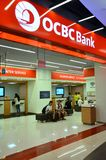 D'outre-mer-Chinois Banking Corporation, Singapour photo stock