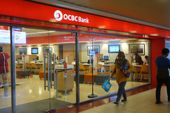 D'outre-mer OCBC Chinese Banking Corporation photos libres de droits