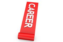3d own career path concept Royalty Free Stock Photo