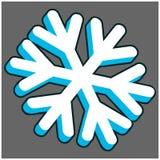 3d płatek śniegu Zdjęcie Royalty Free