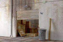 3D pakhuis Stock Afbeeldingen