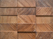 3D panel of afrormosia, wooden background Stock Image