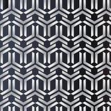3D paper art design triangle geometry cross vector pattern stock illustration