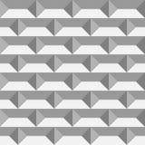 3D paper bricks. Seamless vector pattern background Stock Photos