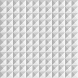 3D paper pyramids. Seamless vector pattern background Stock Photos
