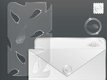 3d paper set Royalty Free Stock Photography