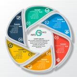 3D papier abstrait Infographics Photos libres de droits