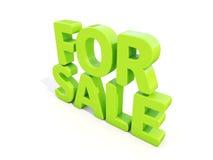 3d para a venda Fotos de Stock