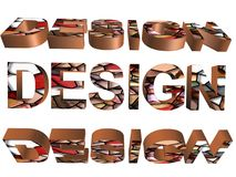 3D parola - progettazione Fotografie Stock