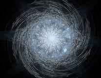 3D patroon van het illustratie kanten kleurrijke uurwerk 3D teruggevend digitaal fractal kunstontwerp stock illustratie