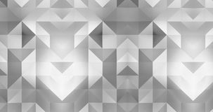 3d pattern abstract geometric polygon surface motion background loop 4k stock video