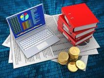3d PC Stock Foto