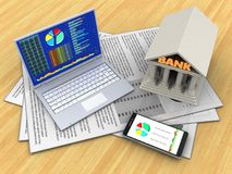 3d PC Royalty-vrije Stock Afbeelding