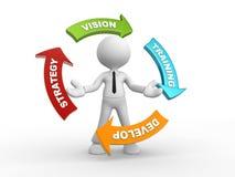 Strategy vector illustration