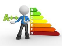 Energy chart Stock Photos