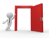 Open door Royalty Free Stock Image