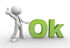Ok Stock Image