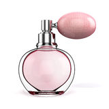 3d perfume bottle Stock Image