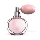 3d perfume bottle Stock Image