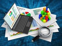 3D Personal-Computer Lizenzfreies Stockbild