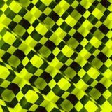 3d perspectiefmening van een schaakraad Royalty-vrije Stock Afbeelding