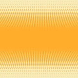 3D perspective halftone background Stock Photography