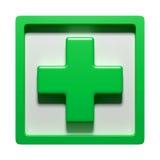 3d pharmacy symbol Royalty Free Stock Photos