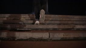 3d pięknej ewoluci ilustracyjni mężczyzna schodki trzy bardzo zbiory