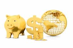 3d pieniężny pojęcie przyrost Fotografia Royalty Free