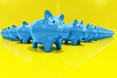 3d Piggy Bank Concept. Money Savings, Finance, Money Box, Budget,  Investments, Savings Account, Sale, Bank, Saving Money for Future Investment Concept Stock Photo