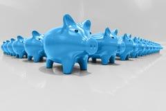 3d Piggy Bank Concept. Money Savings, Finance, Money Box, Budget,  Investments, Savings Account, Sale, Bank, Saving Money for Future Investment Concept Stock Image
