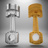 3d Pistons. Stock Photography
