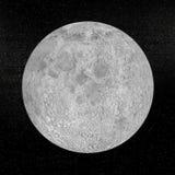 3D planeet van de maan - geef terug Royalty-vrije Stock Fotografie