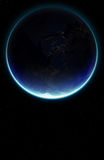 3D Planet Earth. Elements of this image furnished by NASA. Stock Image