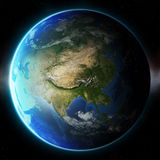 3D Planet Earth. Elements of this image furnished by NASA.  Royalty Free Stock Images