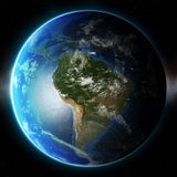 3D Planet Earth. Elements of this image furnished by NASA. Other Royalty Free Stock Photography