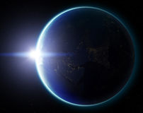 3D Planet Earth. Elements of this image furnished by NASA. Other Stock Photos